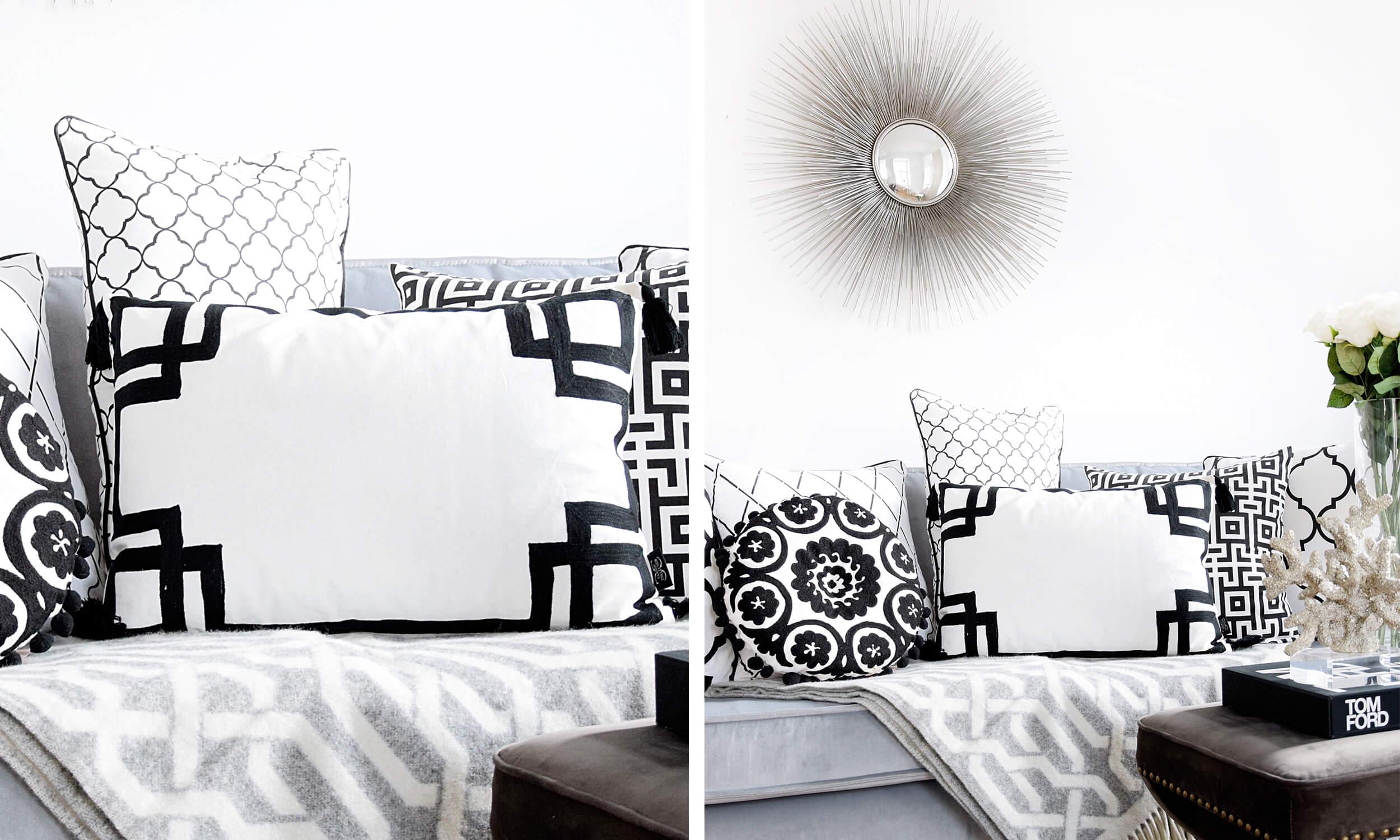 Wohnzimmer Im Monochrom Style