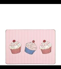 Cupcake Tischset Platzdeckchen in Pink