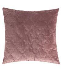 Kissenhülle aus Samt im Marrakesh-Stil mit Absteppung, mauve by Saskiasbeautyblog