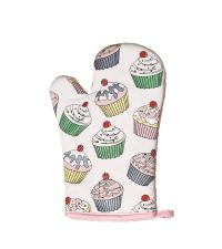 Cupcake Topfhandschuh rosa Ofenhandschuh Topflappen