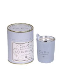 kleine Duftkerze Côte Noire blau in romantischer Geschenkbox