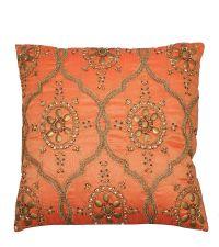 orientalisches Dekokissen orange