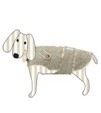 schicker Hundemantel von Lisbeth Dahl mit kuscheligem Innenfutter