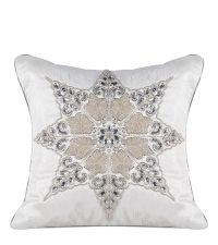 kissenh lle mit schimmernden akzenten silber grau by. Black Bedroom Furniture Sets. Home Design Ideas