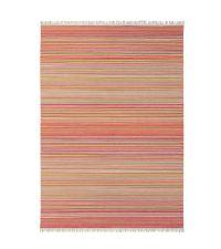 Scion Teppich SYMMETRY orange Wollteppich 140 x 200 cm 170 x 240 cm oder 200 x 280 cm
