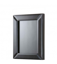 Bilderrahmen in Marmor-Optik mit Glasrahmen, schwarz