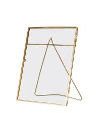 goldener filigraner Bilderrahmen aus Messing, mittel
