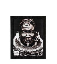 klassischer, schwarzer Bilderrahmen aus Kunststoff