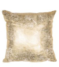 reflektierende Kissenhülle mit metallischem Aufdruck, gold