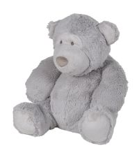 kleiner Teddybär in zartem Grauton