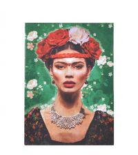 "Großes Wandbild mit ""Frida Kahlo""-Print"