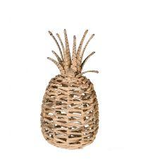 Deko-Ananas aus Seegras, naturfarben