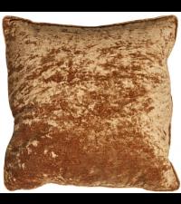 handgefertigte Kissenhülle aus Samt, Samtkissen gold