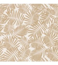 Tapete mit Farnmuster in beige & gold Espinillo Paper/Richgold 111395 Tapete Blattmuster