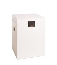 Truhe oder Hocker Pure Asia weiß Box