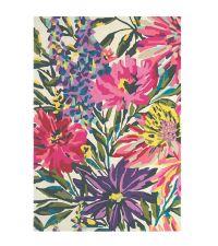 Harlequin Teppich Floreale Fuchsia Wollteppich 140 x 200 cm 170 x 240 cm oder 200 x 280 cm