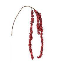hängender Dekozweig Amaranthus mit roten Beeren