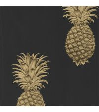 Pineapple Royale Tapete Graphite/Gold 216326