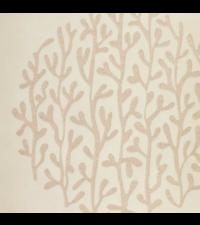 orientalische Vliestapete Focus mit runder Ast-Musterung, beige