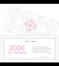 Pure Velvet Gutschein Warenwert € 200,-