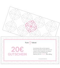 Pure Velvet Gutschein Warenwert € 20,-