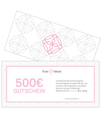 Pure Velvet Gutschein Warenwert € 500,-