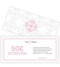 Pure Velvet Gutschein Warenwert € 50,-