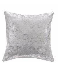 schicke, silber metallische Kissenhülle 'Metallic Mermaid'