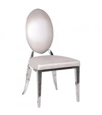 Sessel mit Chromfüßen Bezug Schlangenleder-Optik