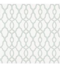 Tapete mit kleinem Trellis-Muster, Vliestapete mit marokkanischem Muster, pastellgrün