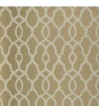 Tapete mit kleinem Trellis-Muster, Vliestapete mit marokkanischem Muster, metallisch gold