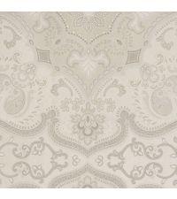 Tapete mit orientalischem Muster, reflektierende Vliestapete taupe