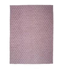 großer Teppich aus PET-Garn mit Musterung, lila