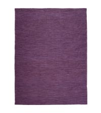 großer In & Outdoor Teppich aus PET-Garn, Outdoorteppich lila