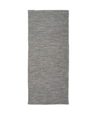 länglicher In & Outdoor Teppich aus PET-Garn, Läufer braun-grau