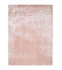 weicher Velvet-Teppich mit rosa schimmernder Oberfläche