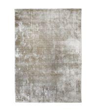 weicher Velvet-Teppich mit schimmernder Oberfläche, taupe