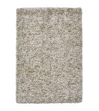 klassischer Hochflor Teppich in vielen Größen, taupe