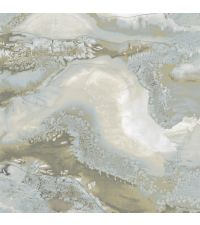 atemberaubende Tapete, Wandbild in Ockertönen, von grau bis mint