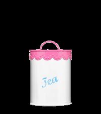 Vorratsdose für Tee pink Candy Aufbewahrung