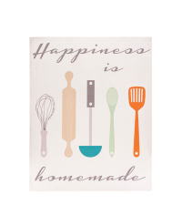 Wandbild Happiness Motiv Küche Poster