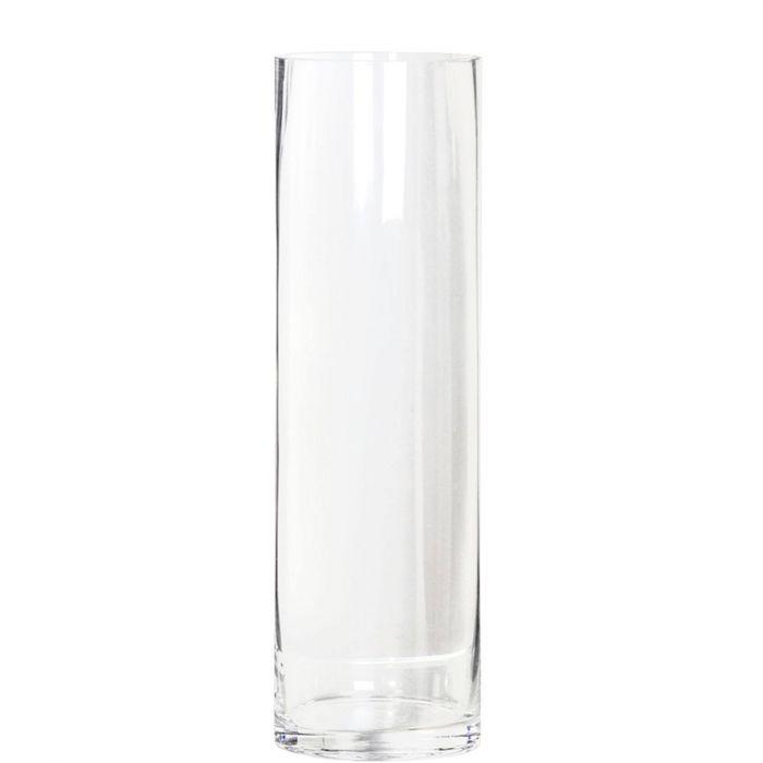 Hohe Blumenvase Vase Aus Klarem Glas