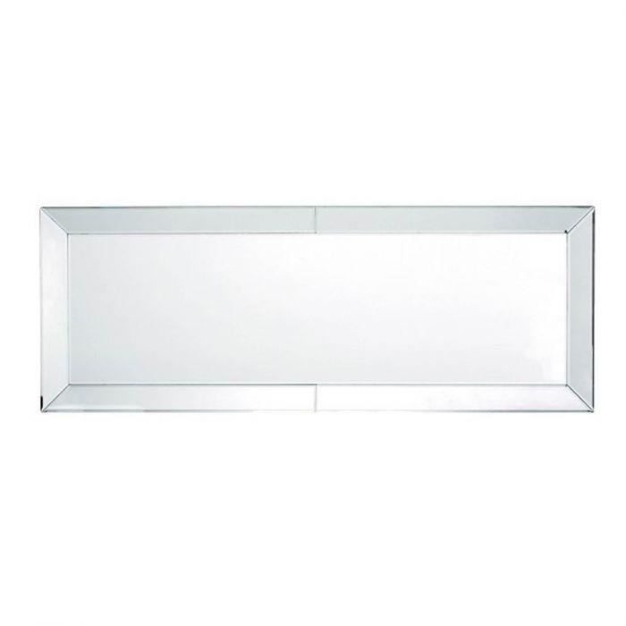 schmaler Wandspiegel mit Spiegelrahmen 160 x 60 cm