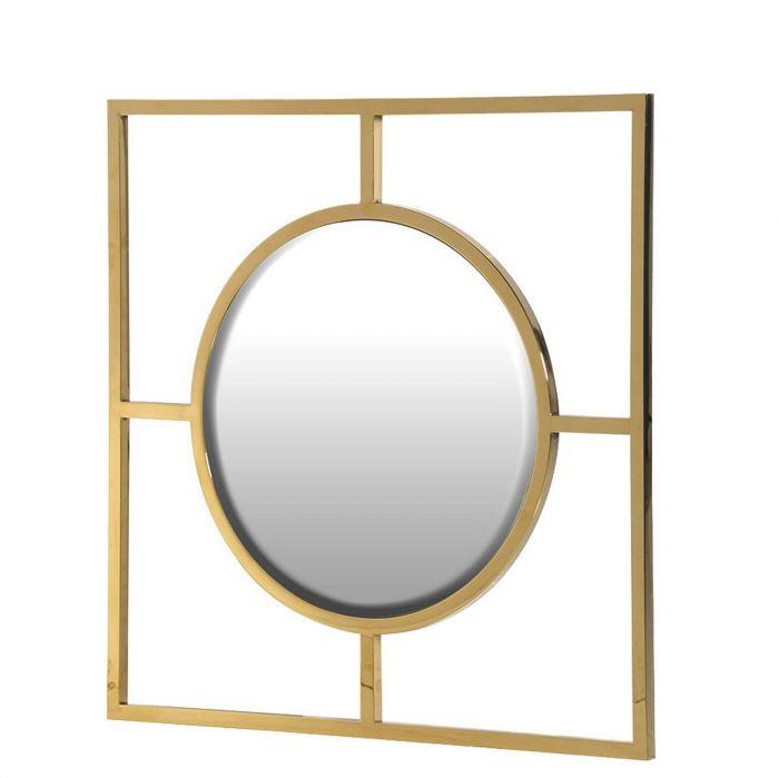 Runder Spiegel Gold Sonnenspiegel Deko 2019 10 04