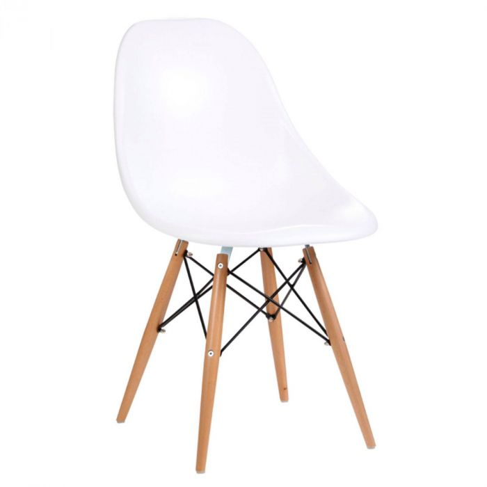 Eames Style Sessel Weiss