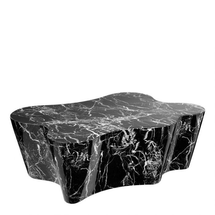 Couchtisch schwarz marmor for Marmortische gunstig