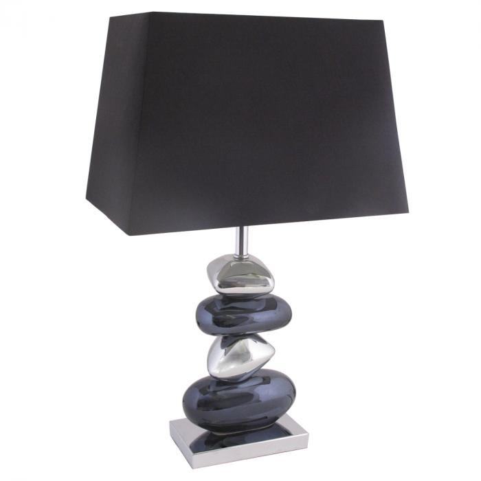 couchtisch 80 80 mit steinfu couchtisch pebble massiv. Black Bedroom Furniture Sets. Home Design Ideas