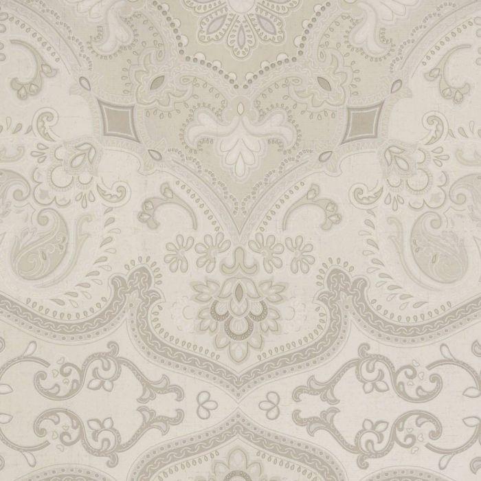tapete mit orientalischem muster reflektierende vliestapete taupe 109 - Tapete Orientalisches Muster