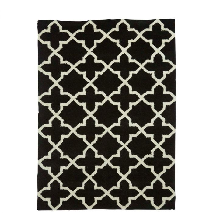Handgefertigten Teppich Muster Naturweiss Kaufen Kunstloft 14