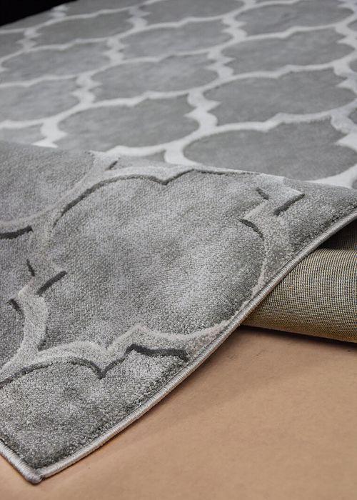 Modern Designer Teppich Kurzflor Meliert 15